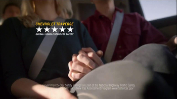 Chevrolet Traverse TV Spot, 'The New US' - Thumbnail 10