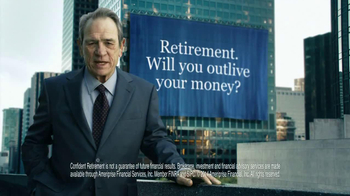 Ameriprise Financial TV Spot, 'Outlive' Featuring Tommy Lee Jones - Thumbnail 7