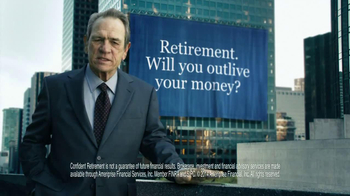 Ameriprise Financial TV Spot, 'Outlive' Featuring Tommy Lee Jones - Thumbnail 8