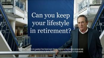 Ameriprise Financial TV Spot, 'Retirement' Feat. Tommy Lee Jones - Thumbnail 10