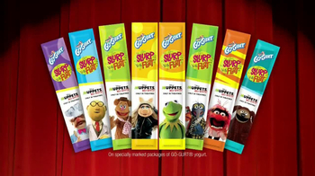GoGurt Tubes TV Spot, 'Muppets Most Wanted'