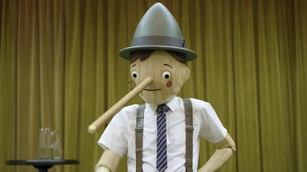 GEICO TV Spot, Pinocchio Was a Bad Motivational Speaker - Screensho...
