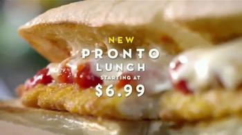 olive garden pronto lunch tv spot new menu thumbnail - Olive Garden Lunch