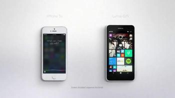 Microsoft Windows Phone TV Spot, 'Siri vs. Cortana: Groundhog Day'