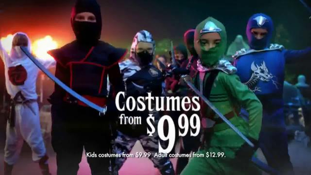 party city tv commercial create your own halloween look ispottv - Halloween Party City