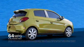 2014 Mitsubishi Mirage TV Spot, 'Vibrant Colors' - Thumbnail 2