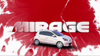 2014 Mitsubishi Mirage TV Spot, 'Vibrant Colors' - Thumbnail 6