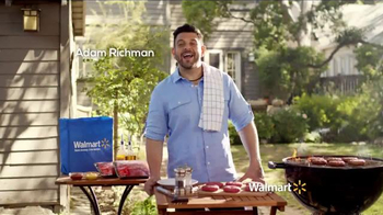 Walmart TV Spot, 'Tip for Grilling the Perfect Burger' Feat. Adam Richman - Thumbnail 1
