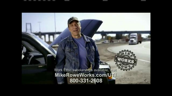 UTI TV Spot, 'Mike Rowe Works Scholarships' Featuring Mike Rowe - 66 commercial airings