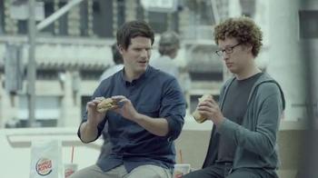 Burger King Extra Long BBQ Cheeseburger TV Spot, '2 for $5: Real Buddies'