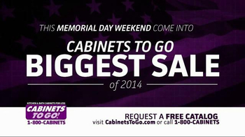 Cabinets To Go TV Spot, 'Memorial Day Sale'