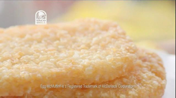 Taco Bell A.M. Crunchwrap Supreme TV Spot, 'On The Inside That Matters' - Thumbnail 4