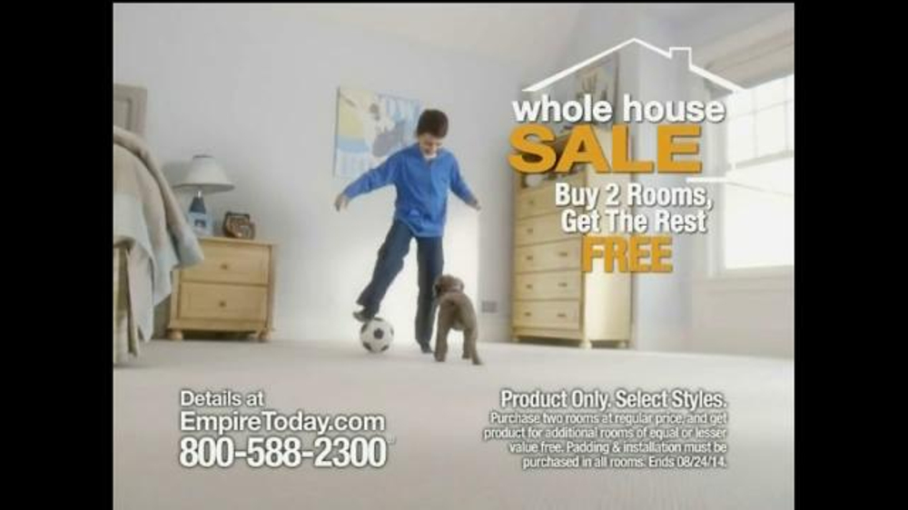 Empire Today Whole House Sale TV Commercial, 'Soccer' - iSpot.tv