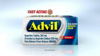 Advil TV Spot, 'Fast Acting Film-Coated Relief'