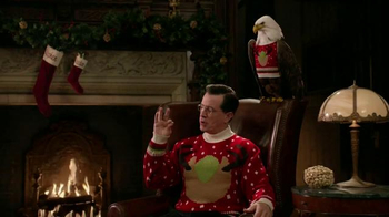 Wonderful Pistachios TV Spot, \'Ring in Christmas\' Featuring Stephen Colbert