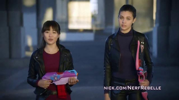 Nerf Rebelle TV Spot, 'Nickelodeon' Featuring Amber Montana, Haley Tju