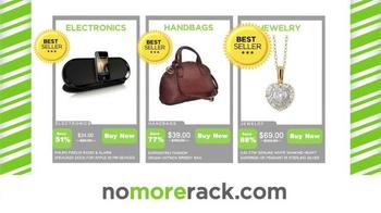 NoMoreRack TV Spot, 'Holiday Shopping'