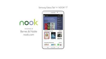 Barnes & Noble Samsung Nook TV Spot, 'e-Reader'