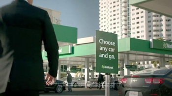 National Car Rental Commercial Patrick Warburton