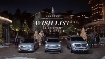 2015 Lincoln MKC TV Spot, 'Wish List Event' - 2450 commercial airings
