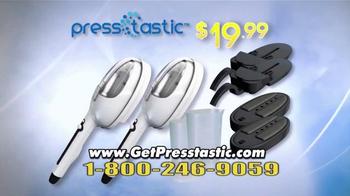 PressTastic Handheld-Steamer TV Spot, 'Fast, Easy, Steaming' - Thumbnail 10
