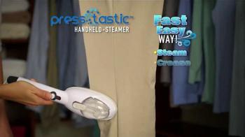 PressTastic Handheld-Steamer TV Spot, 'Fast, Easy, Steaming' - Thumbnail 2