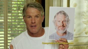 MicroTouch Max TV Spot Con Brett Farve [Spanish]