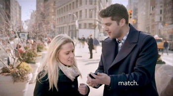 Match.com TV Spot, \'Match on the Street: Over 25,000 People Join Every Day\'