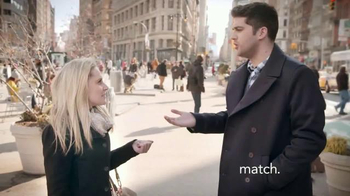 Match.com TV Spot, \'Match on the Street: Place to Meet Men\'