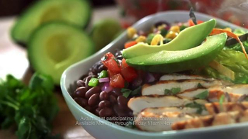 Chili's Fresh Mex Bowls TV Spot, 'Lunch Combo Menu' Song by Oh Honey