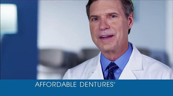 Affordable Dentures TV Spot, \'40 Years of Smiles\'