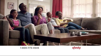 XFINITY X1 Entertainment Operating System TV Spot, 'TV & Internet Together' - 618 commercial airings
