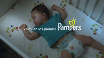 Pampers Baby Dry TV Spot, 'Hasta Tres Veces Más Seco' [Spanish]
