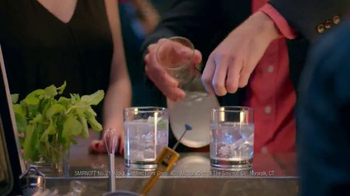 Smirnoff Vodka TV Spot, 'The Mixologist' Feat. Adam Scott and Alison Brie  - Thumbnail 7
