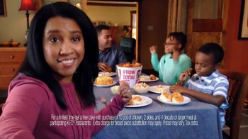 KFC 10-Piece Meal TV Spot, 'Free Cake' - Thumbnail 4