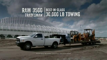 Ram Commercial Truck Season TV Spot
