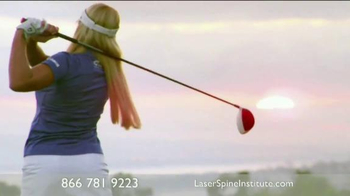 Laser Spine Institute TV Spot Featuring Peter Jacobsen, Natalie Gulbis