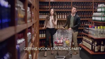Smirnoff TV Spot 'The Store' Featuring Adam Scott and Alison Brie