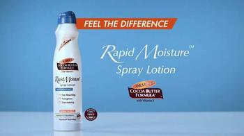 Palmer's Rapid Moisture Spray Lotion TV Spot - Thumbnail 8