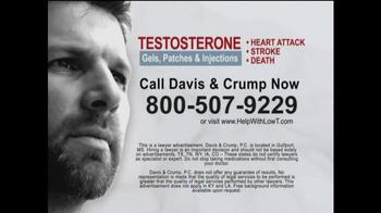 Davis & Crump, P.C. TV Spot, 'Low T'