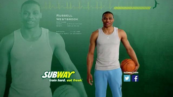 Subway TV Spot, 'Avocado Season' Featuring Russell Westbrook, Mike Trout