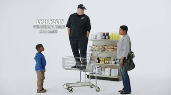 Tostitos Scoops TV Spot, 'Official Chip of the NFL: Cart' Feat. Chip Kelly