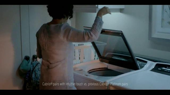 Whirlpool Cabrio Laundry Pairs TV Spot, 'Quiet Moments'