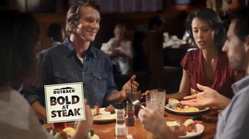 Outback Steakhouse No Worries Wednesday TV Spot, 'Three Course Meal'