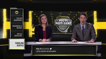 Buffalo Wild Wings TV Spot, 'Posts Post Game Report: Divisional Playoffs'
