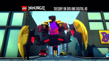 LEGO Ninjago: Masters of Spinjitzu: Fall of the Golden Master DVD TV Spot