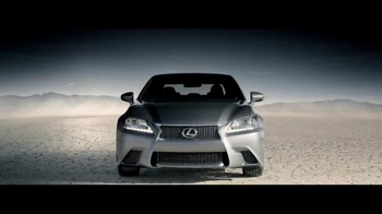 2015 Lexus GS 350 AWD TV Spot, 'In the Desert'