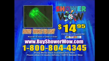 Shower Wow TV Spot, 'Party in the Shower' - Thumbnail 8