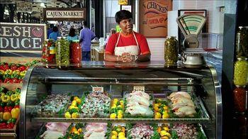 Popeyes Cajun Surf and Turf TV Spot, 'Cajun Market' - Thumbnail 2