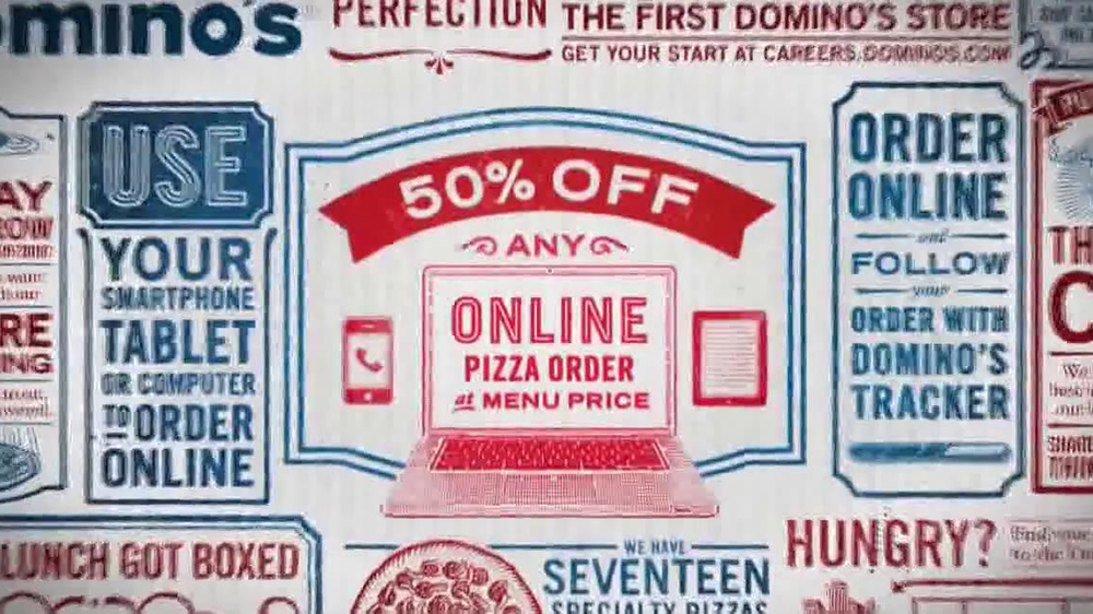 Dominos coupons order online